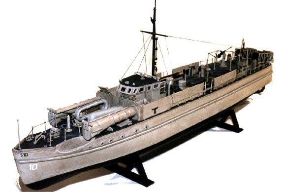 Early German E-... E Boats