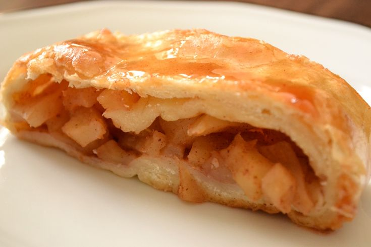 Apple cinnamon strudel | Pies & Tarts | Pinterest