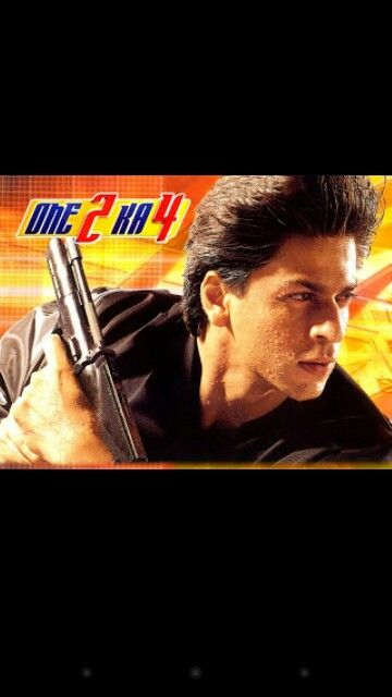 One 2 Ka 4 | Shah Rukh Khan Movies part 2 | Pinterest
