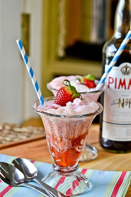 Pimm & Proper Ice Cream Floats | Food | Pinterest