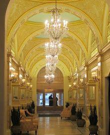 Boston Interior Designers on Boston   The Fairmont Copley   Interior Design
