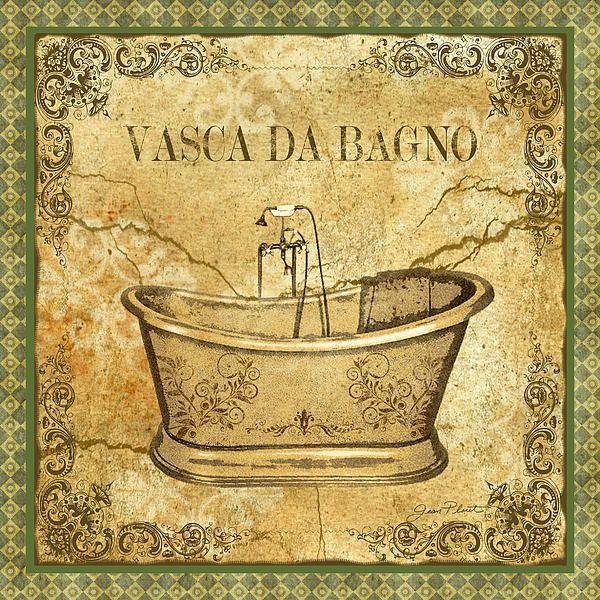 ... Vasca Da Bagno - http://fineartamerica.com/featured/vintage-vasca-da