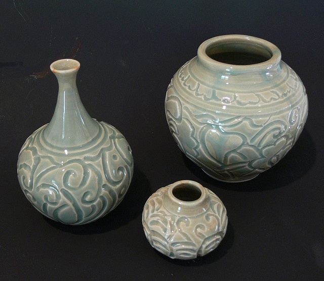 Pottery carving pinterest