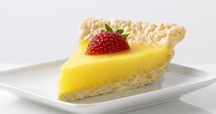 Marshmallow Crispy Lemon Pie ☼1 Tbsp. butter ☼1/4 c. dry JELLO ...