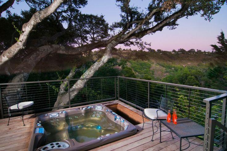 terrasse + jacuzzi  Maisondéco > terrasse, piscine et jardin  Pint