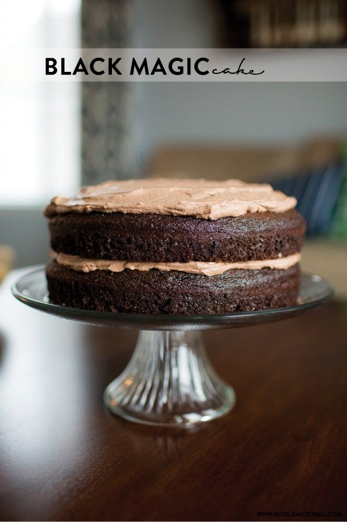 black magic cake recipe | Emily Crall Blog | Wedding Photographer