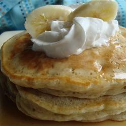 Banana Pancakes I Allrecipes.com | breakfast | Pinterest