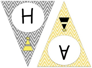 "3rd Grade Gridiron: FREE ""HAPPY NEW YEAR!"" Chevron Pennant Banner!"