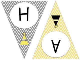 "3rd Grade Gridiron: FREE ""HAPPY NEW YEAR!"" Chevron Pennant Banner!"
