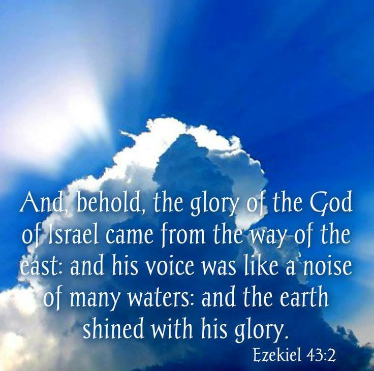 Image result for Ezekiel 43:2
