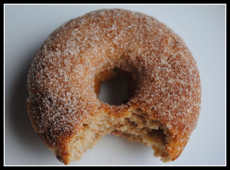 Baked Apple Cinnamon Doughnuts | Donuts | Pinterest