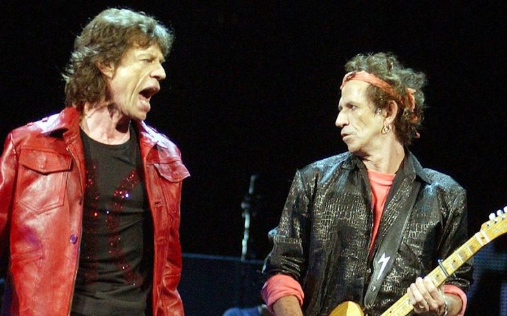 Mick Jagger and Keith Richards in 2002 - a greatest hits double album, Forty Licks, was released in September 2002 to mark the band's 40 anniversary - they embarked on a world tour to promote the album in 2002 and 2003 - the album has since sold around 7 million copies worldwide.