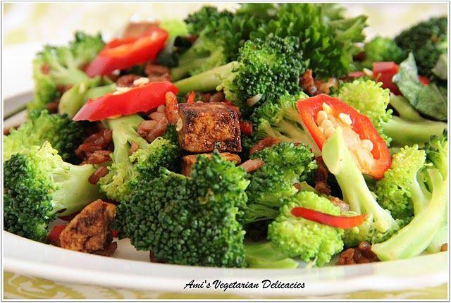 broccoli and tofu stir-fry. | yummy for tummy. | Pinterest