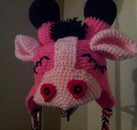 valentine crochet hat