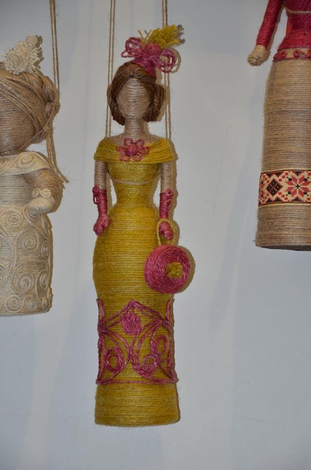 Куклы из джута своими руками 89