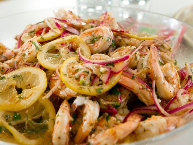Pickled Shrimp with Lemon Chive Aioli | Recipe