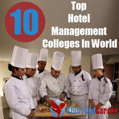 Hotel and Hospitality Management top ten colleges in the us