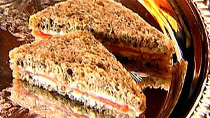 Smoked Salmon Tea Sandwiches | Tea Party | Pinterest