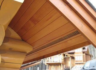 Tongue and Groove Soffits -