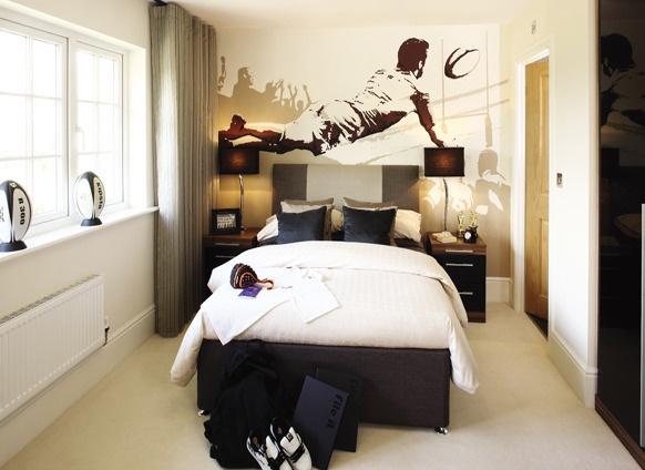rugby bedroom home style pinterest