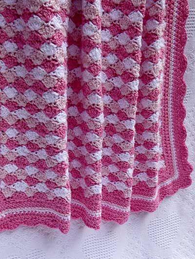 Shells Of Love Crochet Baby Blanket Pattern : Shells of Love Baby Blanket Knitting/crochet Pinterest