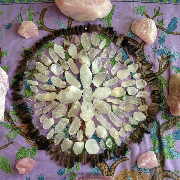 sacred circle of crystals