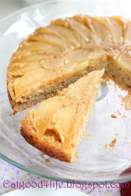 Honey upside down apple cake | Cake | Pinterest