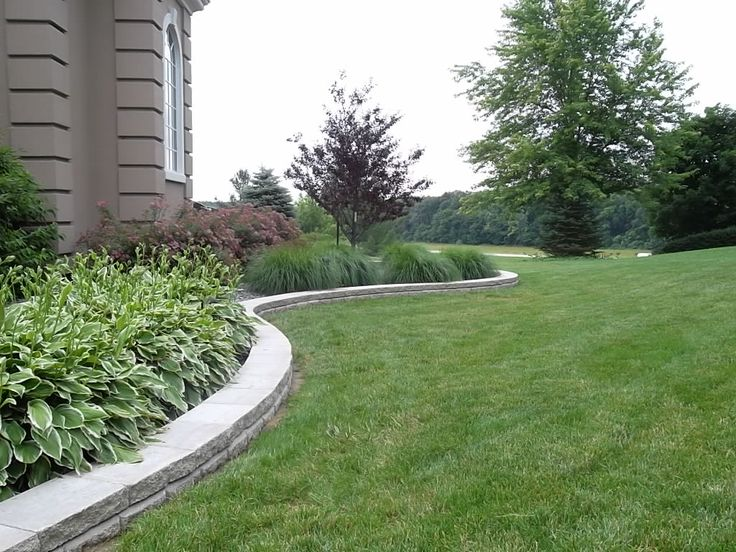 Natural stone edging for the home pinterest - Natural stone garden edging ...