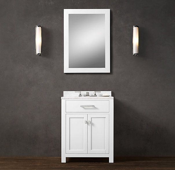 Hutton powder room vanity bathrooms pinterest for Powder room bathroom vanities
