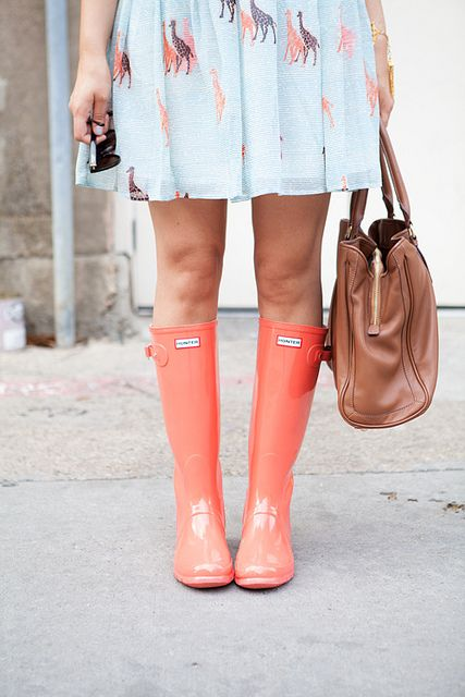Coral Hunter Boots