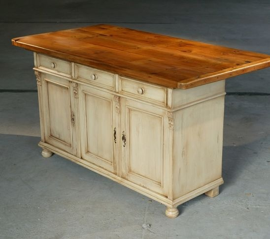 Reclaimed Wood Kitchen Island For The Home Pinterest