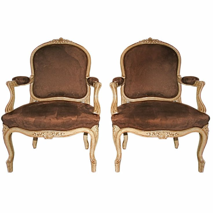 French Louis XV Bergere Chairs | Furniture - Louis XV ...