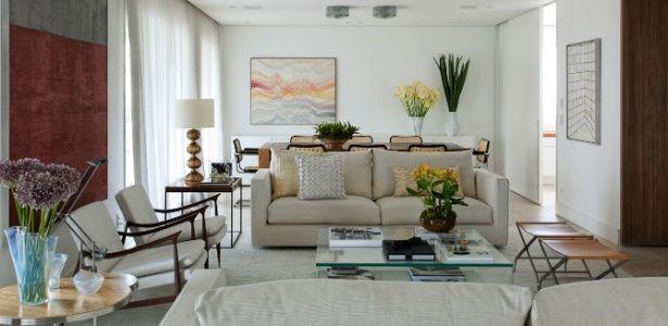 de interiores de apartamento na zona sul de SP  Casa e Decoração