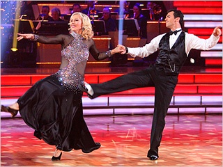 abc Dancing With The Stars: Tennis Star Martina Navratilova-Ballroom Dancer Tony Dovolani