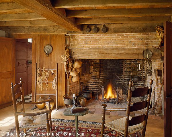 Walk in fireplace | My little cottage in the woods! | Pinterest