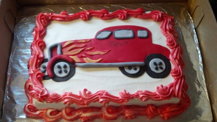 Hot Rod Cake Cake Ideas and Designs