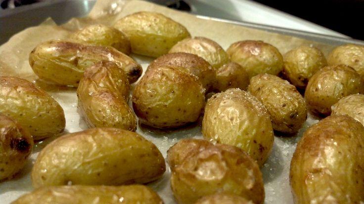 Salt and Vinegar Roasted Potatoes | GF | Pinterest