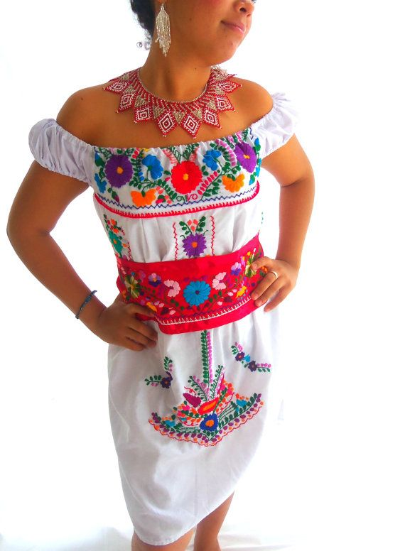 Flores aztecas stunning handmade mexican embroidered belt