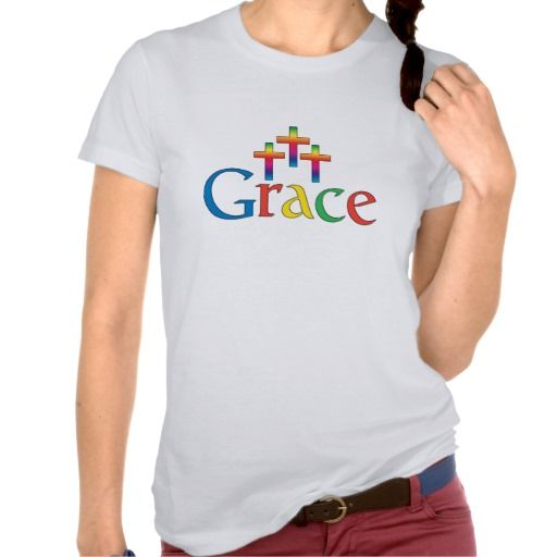 Grace T Shirt Google Logo Parody