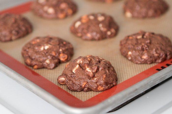 Triple Chip Chocolate Chunk Cookies | Recipe