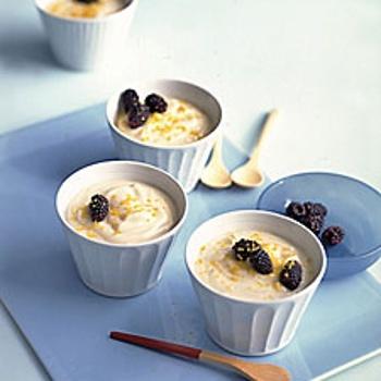 Lemon Cream With Blackberries | Recipes - Other Desserts | Pinterest