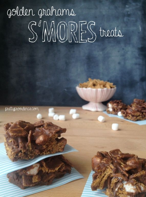 Golden Grahams S'mores Bars | Food - My Sweet Tooth | Pinterest