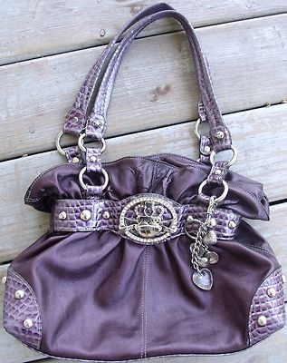Purple Kathy Van Zeeland Purse DONT MISS!!!