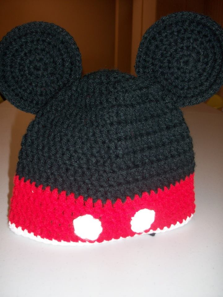 Mickey Mouse Knitted Hat Pattern : Mickey Mouse Hats On The Loom Joy Studio Design Gallery - Best Design