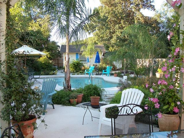 Nice Backyard Pools : Nice Backyard Pool  Outdoor Living  Pinterest