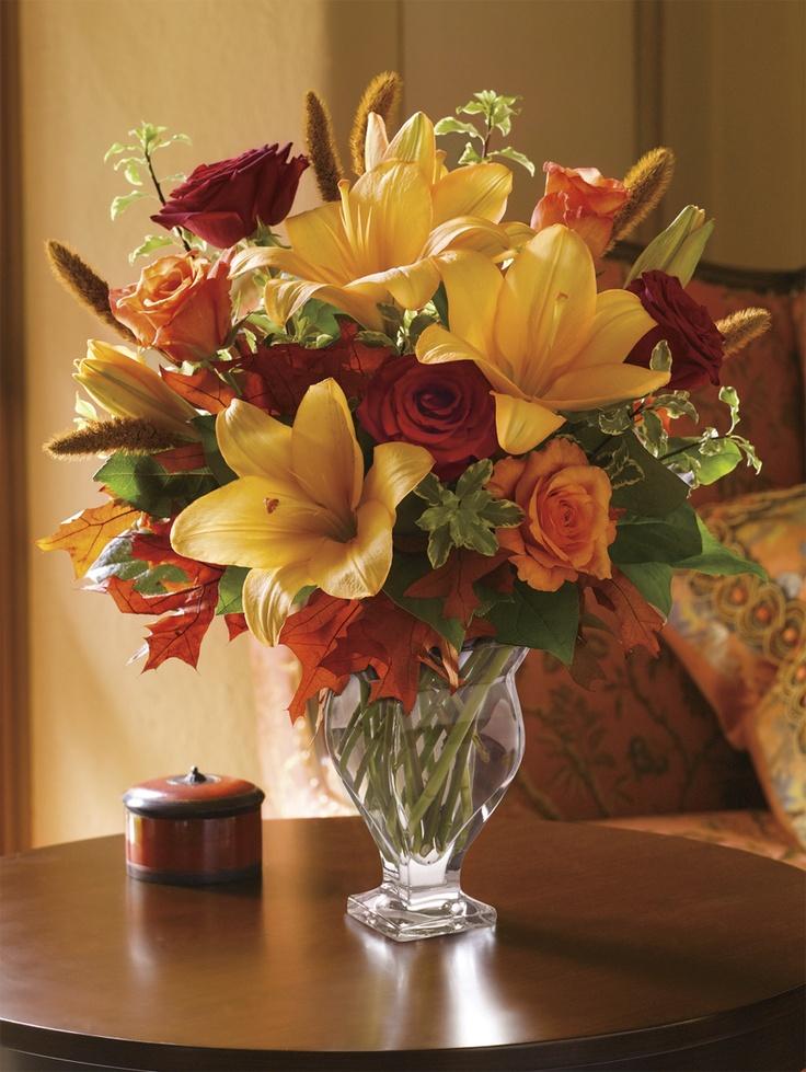 Pin by teleflora on fall flower arrangements pinterest Fall floral arrangements
