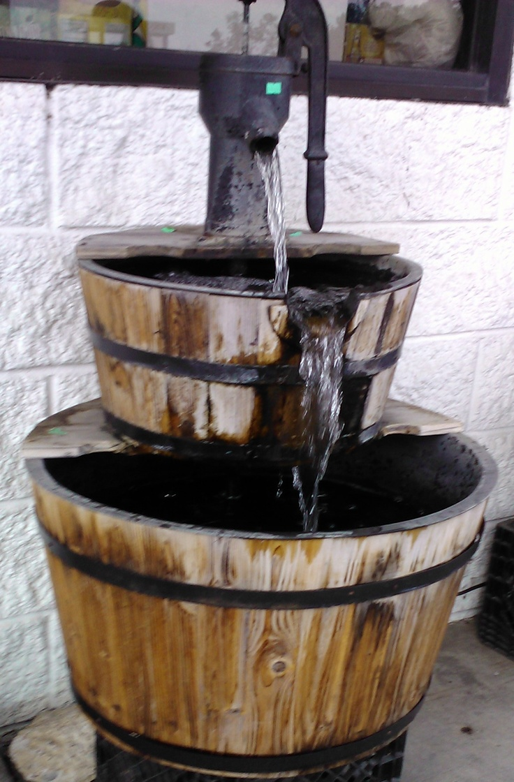 Whiskey Barrel Fountain Whiskey Barrel Creation 39 S