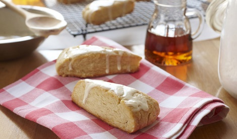 maple syrup scones! | recipes to try | Pinterest