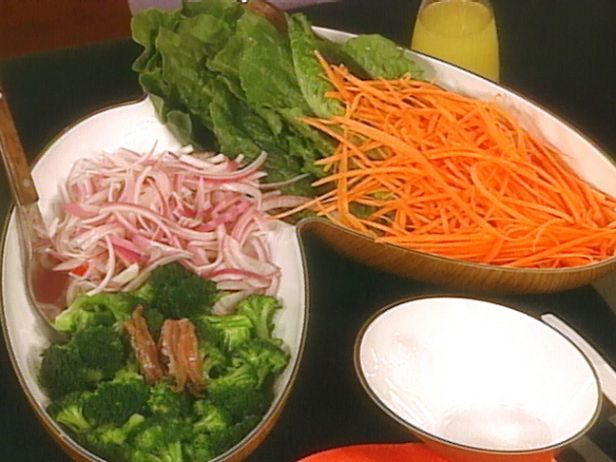Make-Your-Own Salad with Lemon Garlic Dressing   Recipe