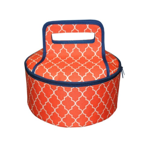 The Navy Knot - Mainstreet Collection Round Casserole Carrier in ...